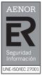 AENOR - Seguridad Información