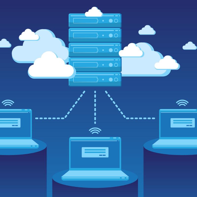 Virtualización servidores físicos 1 - Reducir el número de servidores físicos gracias a la virtualización