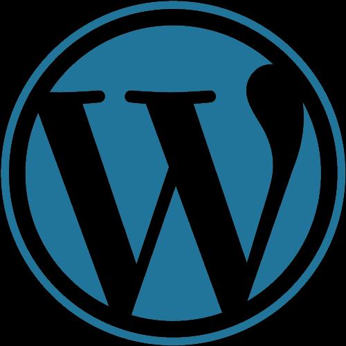 wordpress logo.pngwidth215ampnamewordpress logo - 10 ejemplos de servicios cloud para PYMES